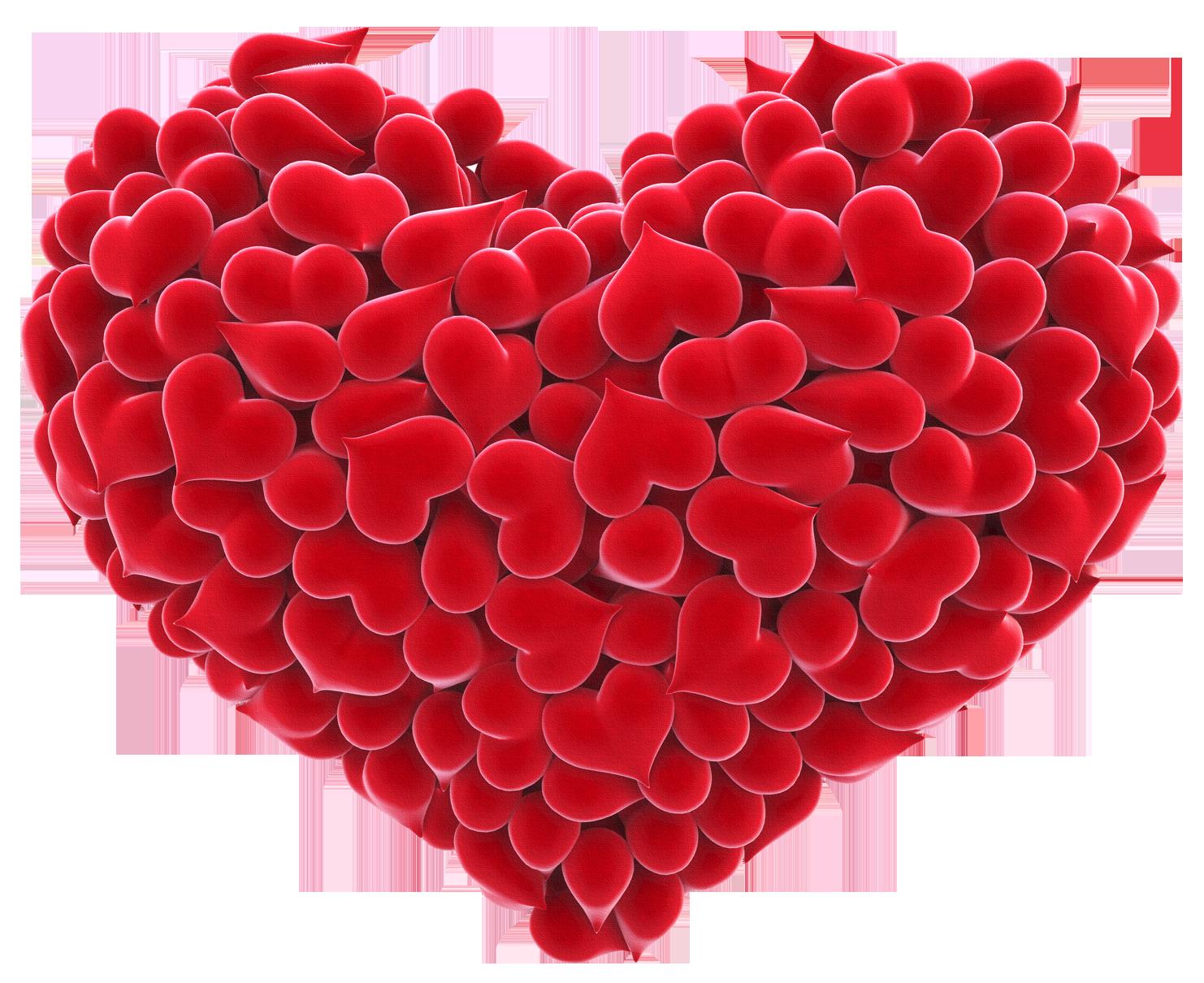 Картинка сердце большое красивое