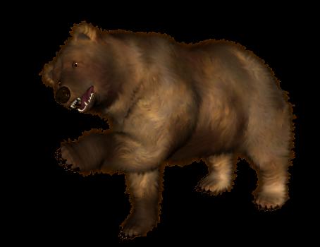 Анимация медведи на прозрачном фоне
