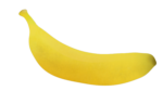 Скачать PNG картинку на прозрачном фоне Контур банана