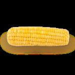 Скачать PNG картинку на прозрачном фоне Кукуруза очищенная, вид сверху