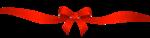 Скачать PNG картинку на прозрачном фоне Лента красная с бантом