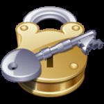 Скачать PNG картинку на прозрачном фоне Нарисованный ключ с накидным замком