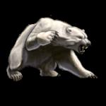 Скачать PNG картинку на прозрачном фоне Нарисованный медведь, злой