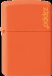 Скачать PNG картинку на прозрачном фоне Оранжевая зажигалка zippo