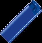 Скачать PNG картинку на прозрачном фоне Синяя газовая зажигалка