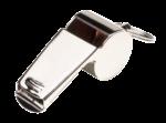 Скачать PNG картинку на прозрачном фоне Блестящий металлический свисток