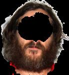 Скачать PNG картинку на прозрачном фоне Борода с длинными волосами