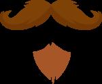 Скачать PNG картинку на прозрачном фоне Бородка с пышными усами