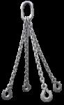 Скачать PNG картинку на прозрачном фоне Четыре цепи в связке с крюками