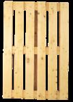 Скачать PNG картинку на прозрачном фоне Деревянный поддон(палета), вид сверху