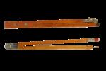 Скачать PNG картинку на прозрачном фоне Два деревянных циркуля