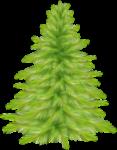 Скачать PNG картинку на прозрачном фоне елка рисуунок,светло-зеленая, обычная