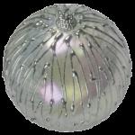 Скачать PNG картинку на прозрачном фоне елочный шар с серебристыми следами