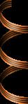 Скачать PNG картинку на прозрачном фоне Георгиевская лента спиралью, нарисованная