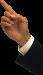 Скачать PNG картинку на прозрачном фоне Грозит указательным пальцем