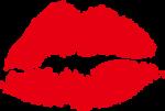 Скачать PNG картинку на прозрачном фоне Грубый нарисованный след от поомады