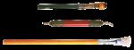 Скачать PNG картинку на прозрачном фоне Кисть для рисования с большим ворсом