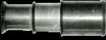 Скачать PNG картинку на прозрачном фоне Короткая металлическая подзорная труба