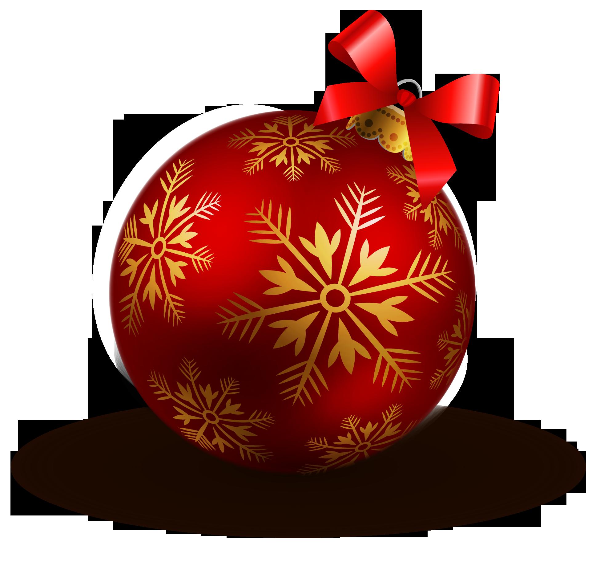 Новогодняя шарик картинка