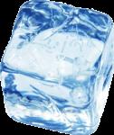 Скачать PNG картинку на прозрачном фоне Кубик льда с закругленными краями