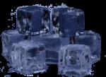 Скачать PNG картинку на прозрачном фоне Кубики льда