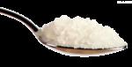 Скачать PNG картинку на прозрачном фоне Ложка соли, вид сбоку