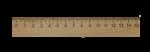 Скачать PNG картинку на прозрачном фоне Маленькая деревянная линейка, 15 сантиметров