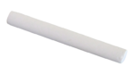 Скачать PNG картинку на прозрачном фоне Мелок белый, с круглым сечением
