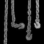Скачать PNG картинку на прозрачном фоне Металлические цепи и крюки свисают