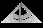 Скачать PNG картинку на прозрачном фоне Металлический угломер