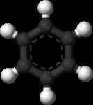 Скачать PNG картинку на прозрачном фоне Молекула бензина