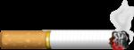 Скачать PNG картинку на прозрачном фоне Нарисованная сиграта тлеет