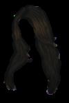 Скачать PNG картинку на прозрачном фоне Нарисованные женские волосы
