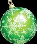 Скачать PNG картинку на прозрачном фоне нарисованный елочный шар с узором снежинки