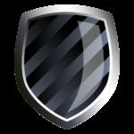 Скачать PNG картинку на прозрачном фоне Нарисованный полосатый щит