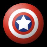 Скачать PNG картинку на прозрачном фоне Нарисованный щит со звездой