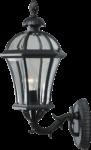 Скачать PNG картинку на прозрачном фоне Настенный уличный фонарь, решетка