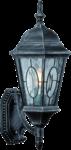 Скачать PNG картинку на прозрачном фоне Настенный уличный светильник, плафоном в верх
