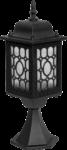 Скачать PNG картинку на прозрачном фоне Настенный уличный светильник, решетчатый