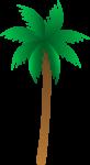 Скачать PNG картинку на прозрачном фоне Очень простая нарисованная пальма