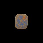 Скачать PNG картинку на прозрачном фоне Оранжево-синяя стерка, вид сверху