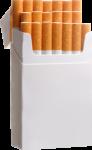 Скачать PNG картинку на прозрачном фоне Пачка с сигаретами в три ряда