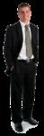 Скачать PNG картинку на прозрачном фоне Парень в черном костюме, бизнесмен