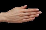 Скачать PNG картинку на прозрачном фоне Прижатые пальцы
