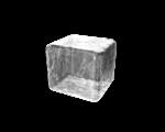 Скачать PNG картинку на прозрачном фоне Прозрачный нарисованный кубик льда
