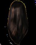 Скачать PNG картинку на прозрачном фоне Прямые женские волосы