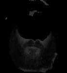 Скачать PNG картинку на прозрачном фоне Пушистая борода