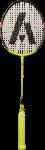 Скачать PNG картинку на прозрачном фоне Ракетка для бадминтона с салатовой ручкой