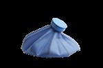Скачать PNG картинку на прозрачном фоне Резиновая грелка или мешок для льда, вид сбоку