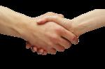 Скачать PNG картинку на прозрачном фоне Рукопожатие